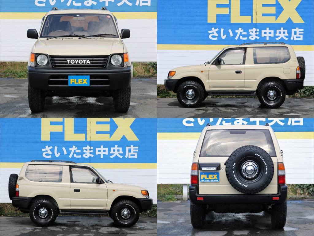 | トヨタ ランドクルーザープラド 2.7 RX 4WD