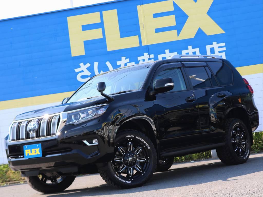 | トヨタ ランドクルーザープラド 2.7 TX 4WD ガソリン車5人乗り