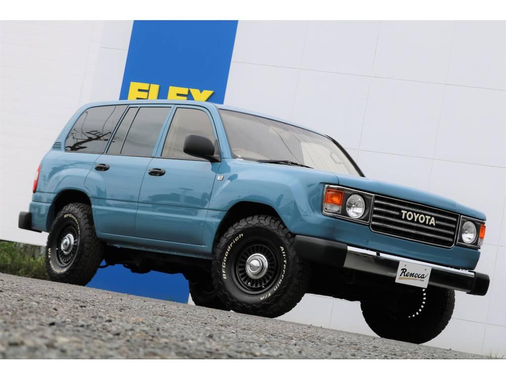 当店の車両は、全部位(消耗品と内外装パーツを除く)期間・走行距離無制限の安心保証付き★遠方のお客様へは、ご自宅のお近くの認証整備工場を保証整備先としてご紹介させて頂きます(^^)/   トヨタ ランドクルーザー100 4.7 VXリミテッド Gセレクション 4WD