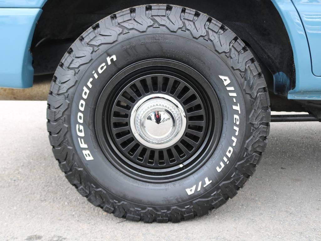 タイヤ、ホイール共に見た目もカッコイイですね◎
