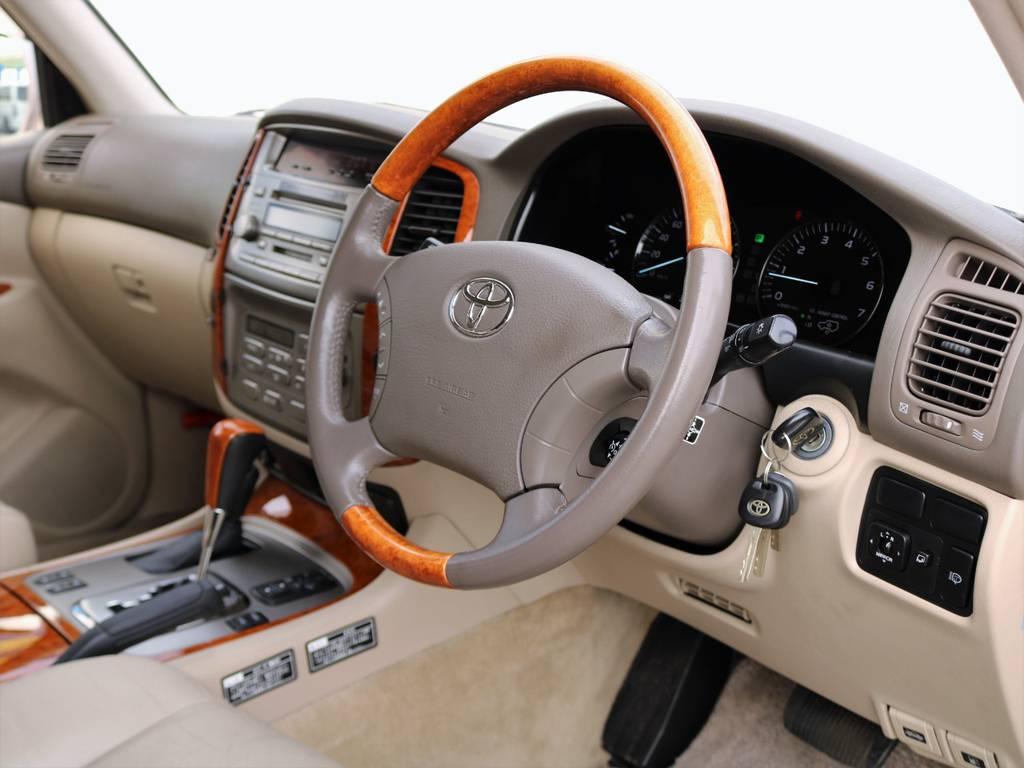 程度の良さ、綺麗さをお分かり頂けると思います。どこに出しても恥ずかしくないお車です。 | トヨタ ランドクルーザー100 4.7 VXリミテッド Gセレクション 4WD 走行39千km RENOCA106
