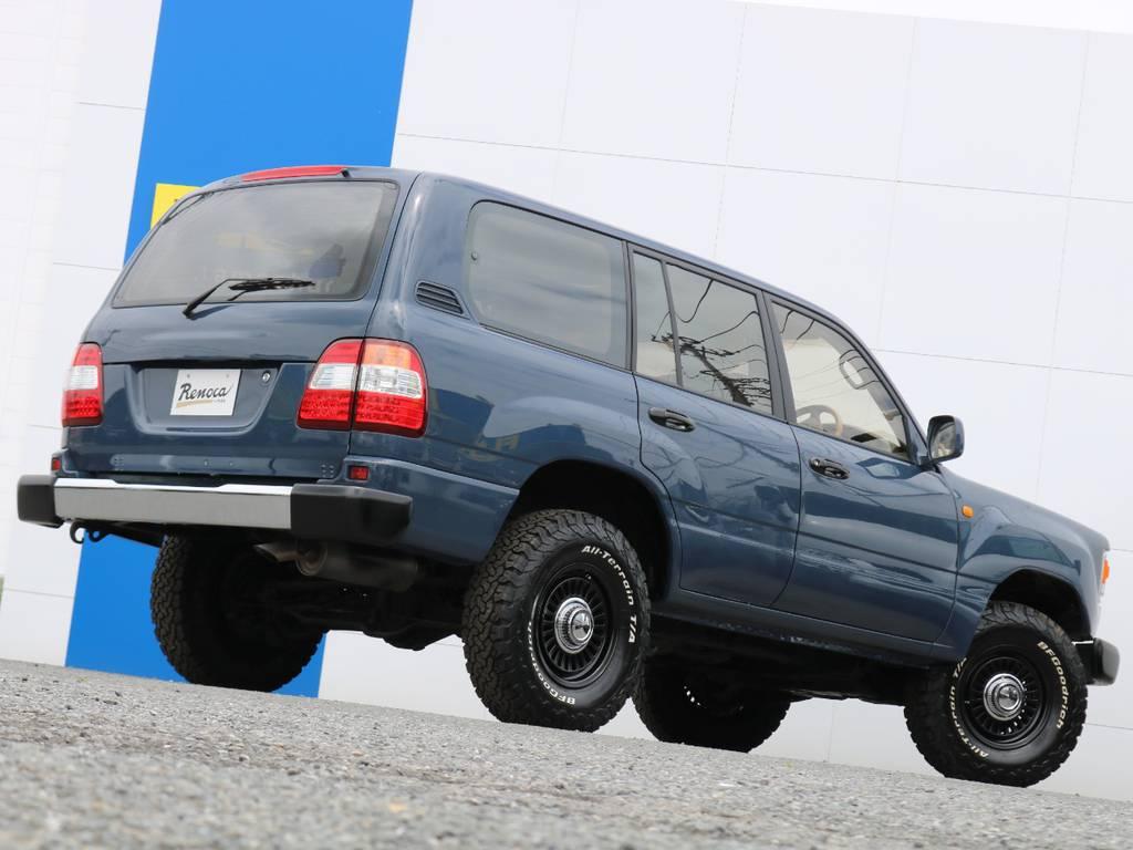 掲載されているお写真や情報だけではお分かり頂けないことはありませんか!?どんな些細なことでも、この車両を詳しく把握している、ランクル専任担当の宇津木・高橋・東海までお気軽にお問い合わせください(^^♪ | トヨタ ランドクルーザー100 4.7 VXリミテッド Gセレクション 4WD 走行39千km RENOCA106