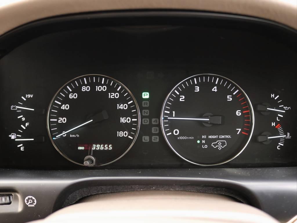 ご覧ください。走行距離は4万kmを下回っております。最上級Gセレクション。出物の一台です!ご検討はお早めに。。 | トヨタ ランドクルーザー100 4.7 VXリミテッド Gセレクション 4WD 走行39千km RENOCA106