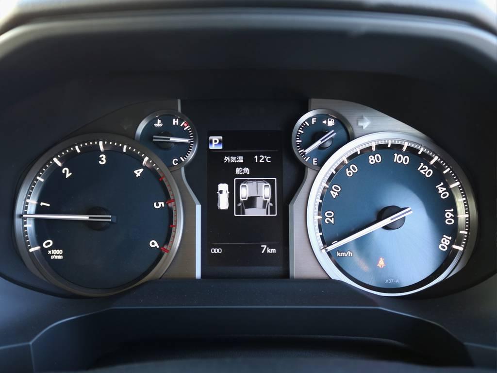 トヨタ自動車内での走行チェックなど工場出荷時の7km走行のまま、入庫いたしております。行動は1mmも走行していない未登録・未使用の新車になります! | トヨタ ランドクルーザープラド 2.8 TX ディーゼルターボ 4WD 7人