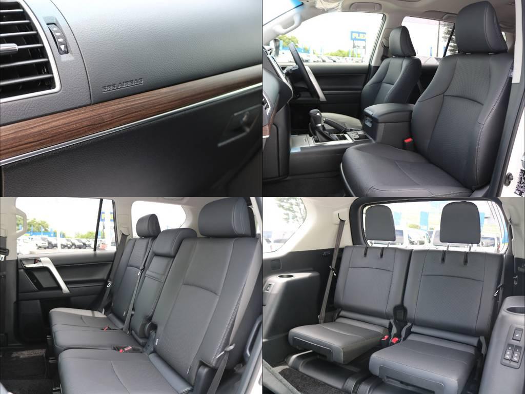 | トヨタ ランドクルーザープラド 2.7 TX Lパッケージ 4WD 7人乗り 本革内装サンルーフ 9inナビ