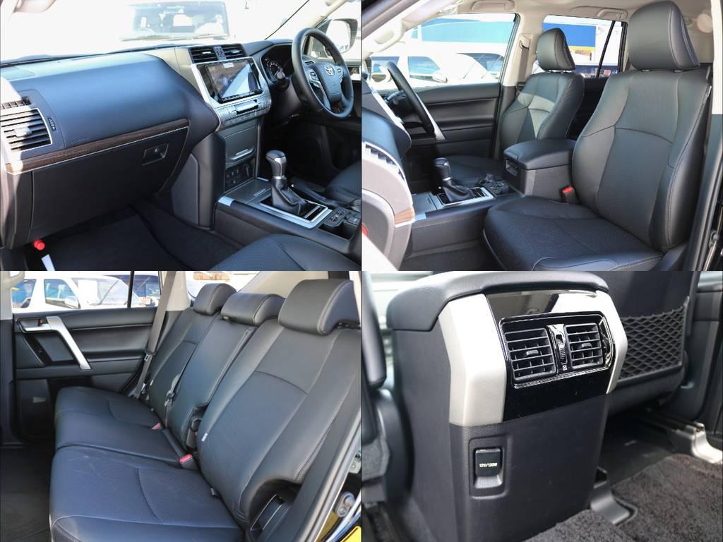 | トヨタ ランドクルーザープラド 2.8 TX Lパッケージ ディーゼルターボ 4WD 5人乗り本革内装 米国Goodyear