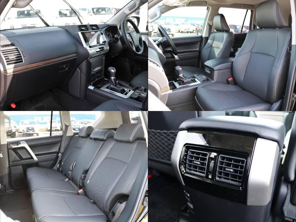 フロントWエアバッグ、サイド&カーテンシールドエアバッグを完備!堅牢なフレーム構造と相まって、万一の衝突時も乗員保護は安心です!自動ブレーキ付きで予防安全性能も◎。大切な方も安心してお乗せください。