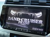 LAND CRUISER PRADO専用設計のALPINEビッグX9インチ大画面ナビを新品装着しました(^^♪ バックカメラ&ETCももちろん完備!!