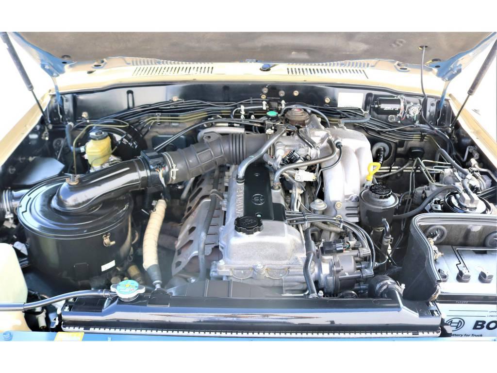 後期型のエンジンに仕様が変わり、エンジンの性能も格段に良くなりました☆