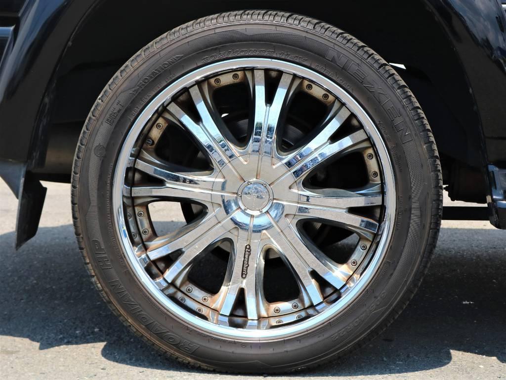 その他、タイヤ・ホイール交換も承っておりますのでお気軽にスタッフまでご相談下さい!!