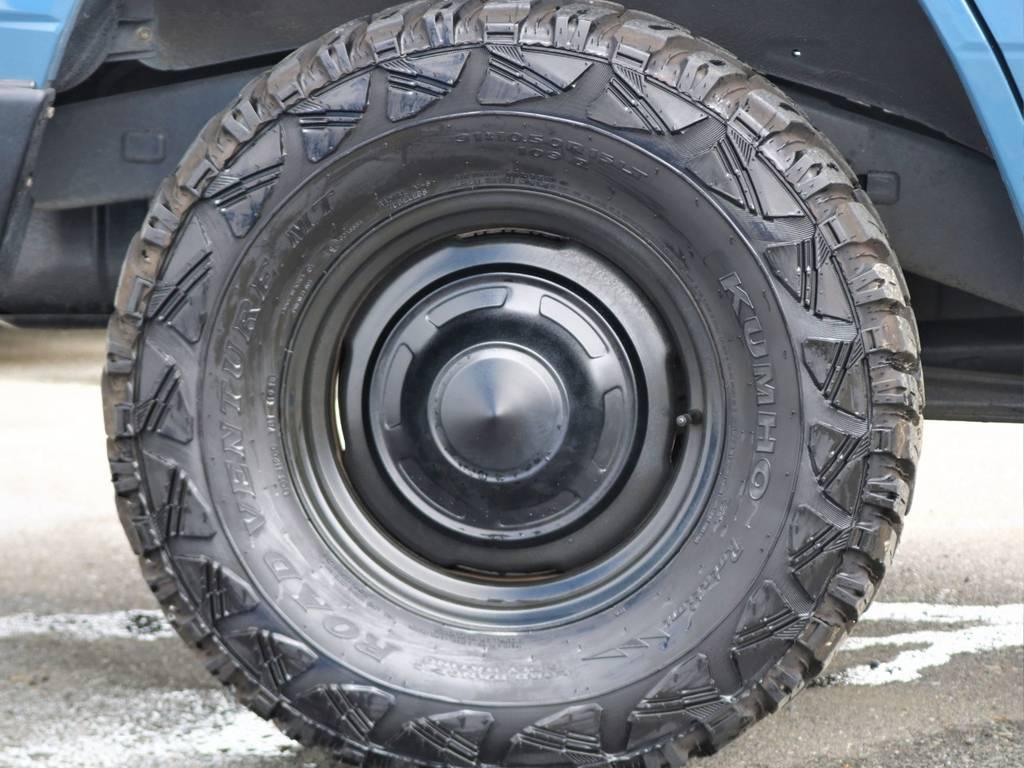 KUMHOのタイヤをインストール済みです!