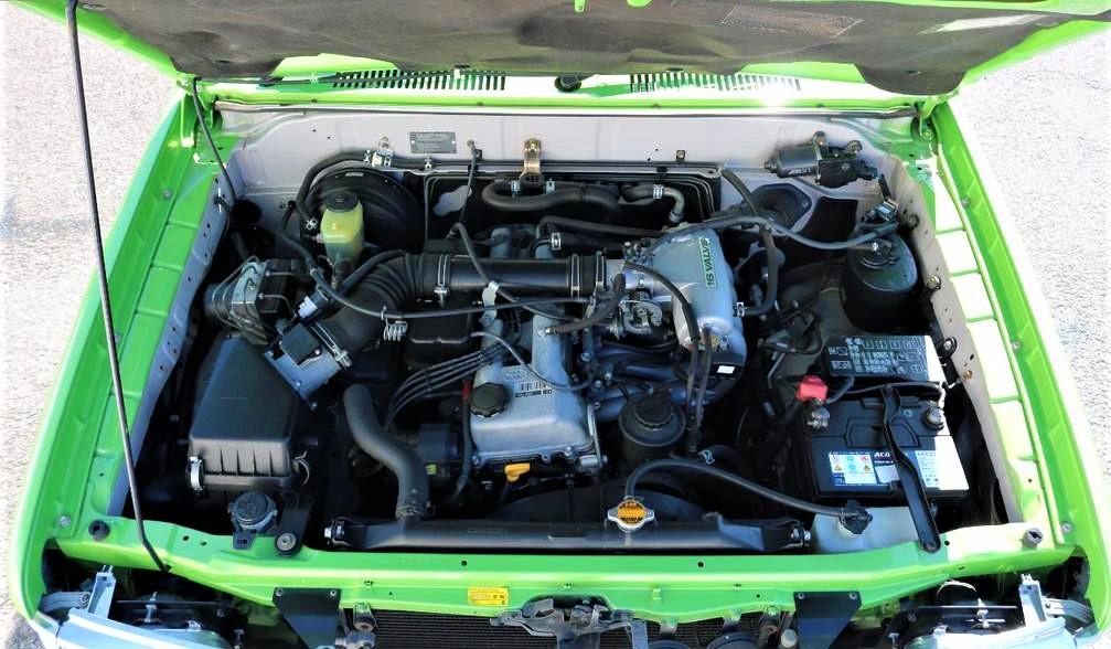 2700ccガソリンエンジンは大き過ぎず扱いやすい良いエンジンです♪