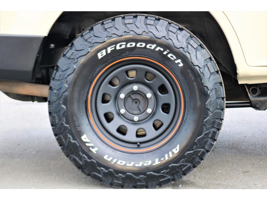 タイヤはグットリッチです!このタイヤはそそるものがありますね~
