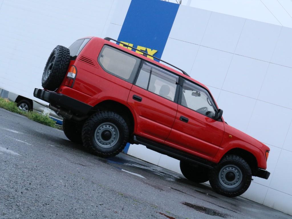 この車にのって街を走るだけでみんなの視線を釘付け!