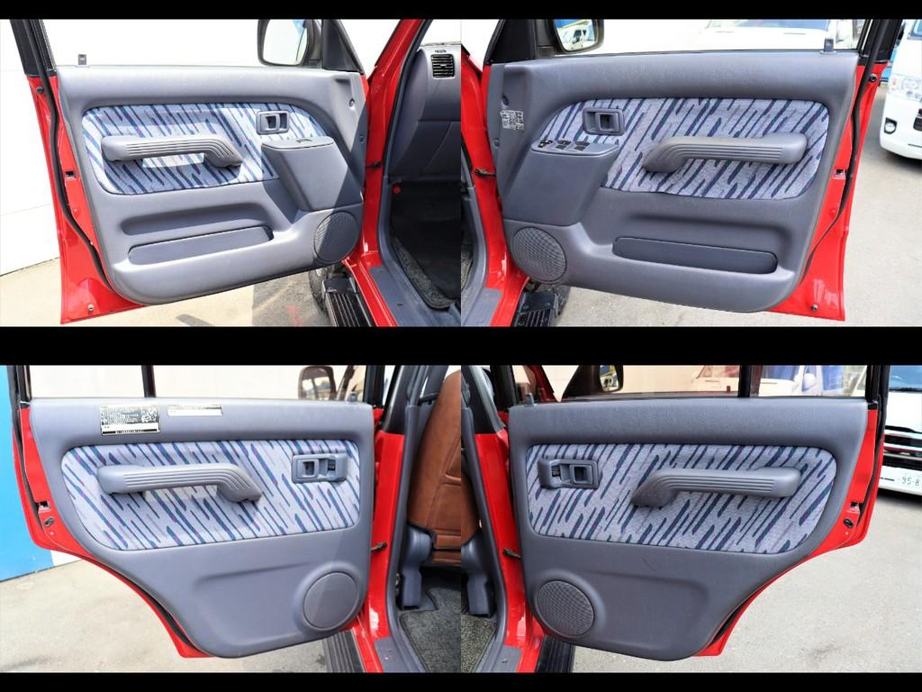 グレー内装の内張りです。スウェードや合皮素材の内張り変更も可能です!