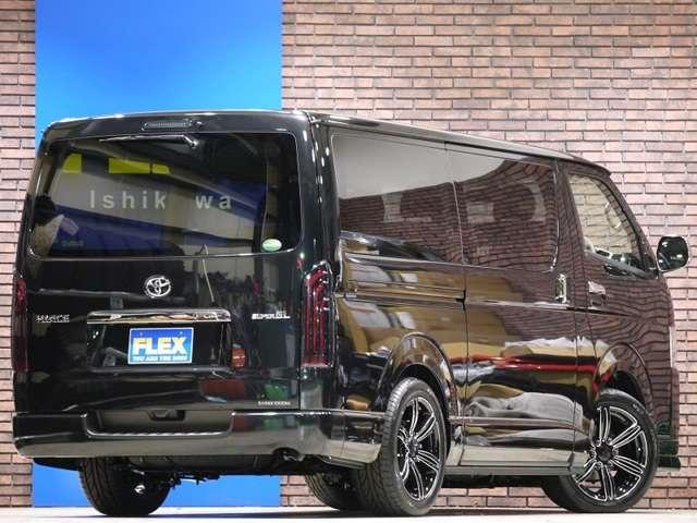 ハイエースバン 3.0 スーパーGL ダークプライム ロングボディ ディーゼルターボ 4WD