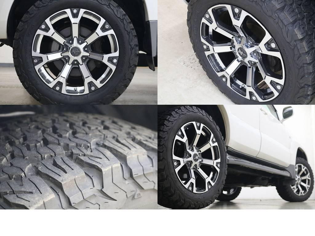 新品BFグットリッチATタイヤ×ナイトロパワー20インチAW☆ | トヨタ ランドクルーザープラド 3.0 TXリミテッド ディーゼルターボ 4WD