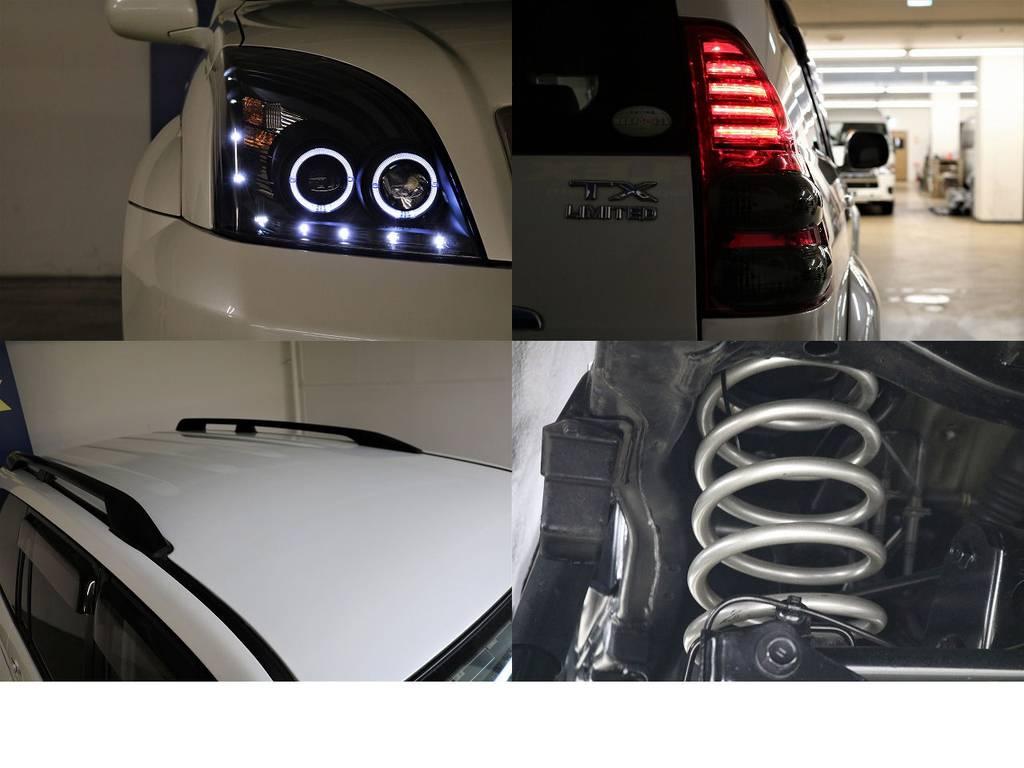 新品カスタムパーツ多数♪ | トヨタ ランドクルーザープラド 3.0 TXリミテッド ディーゼルターボ 4WD