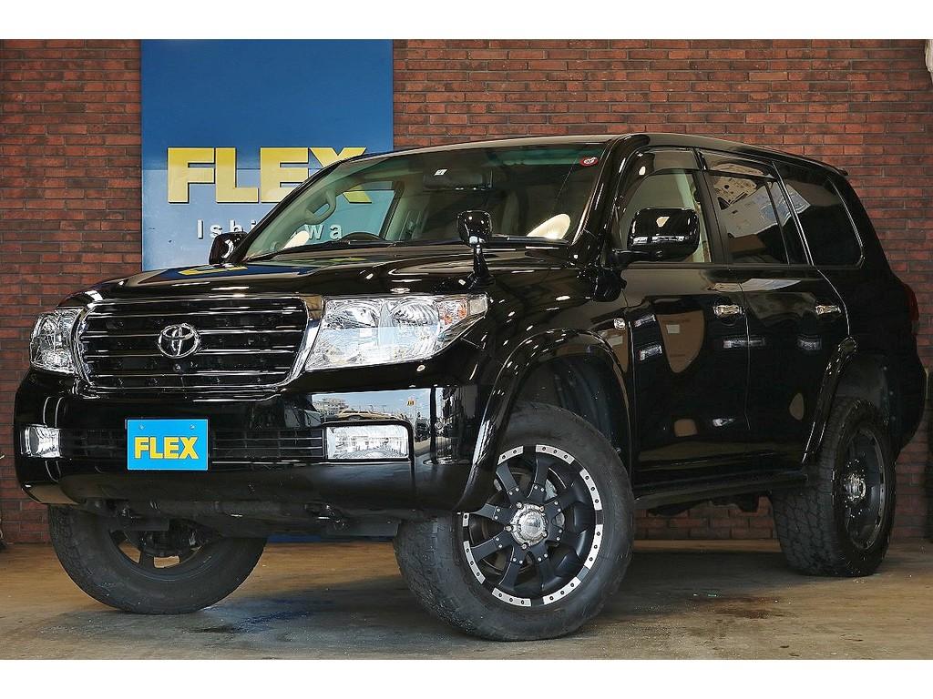 【H20 ランクル200 AX Gセレクション 4WD ブラック】お気軽にフレックスランクルハイエース石川店までお問い合わせ下さい!
