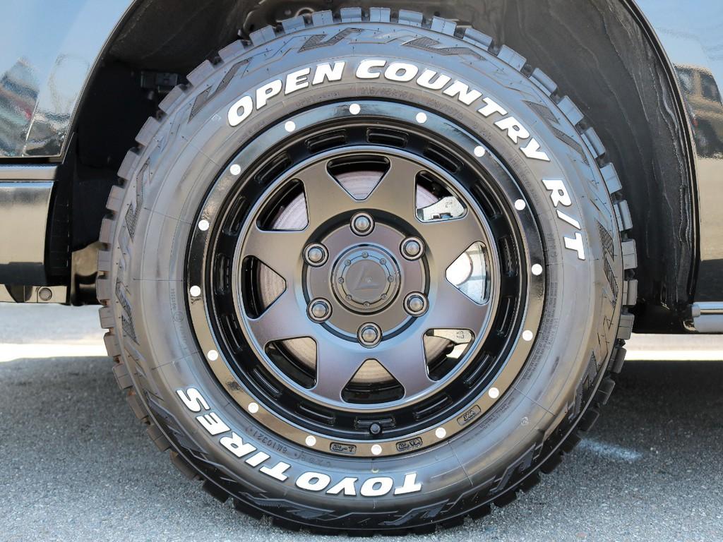 新品 レオウィング 16インチ×新品 TOYOオープンカントリータイヤ装着☆ -