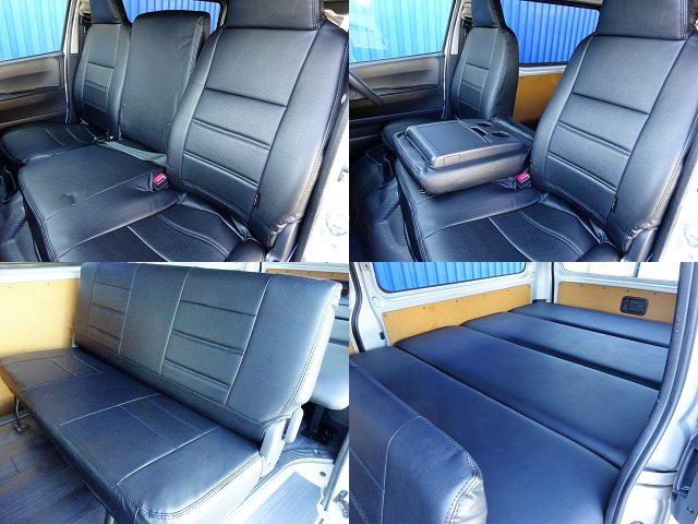 新品DX専用シートカバー装着☆ | トヨタ ハイエースバン 2.0 DX ロング GLパッケージ WORK STYLE