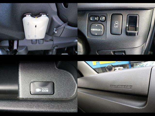 ETC、電動パワースライドドア、AC100V電源、助手席エアバック搭載☆ | トヨタ ハイエース 2.7 GL ロング ミドルルーフ 【買取直販】3型ワゴン