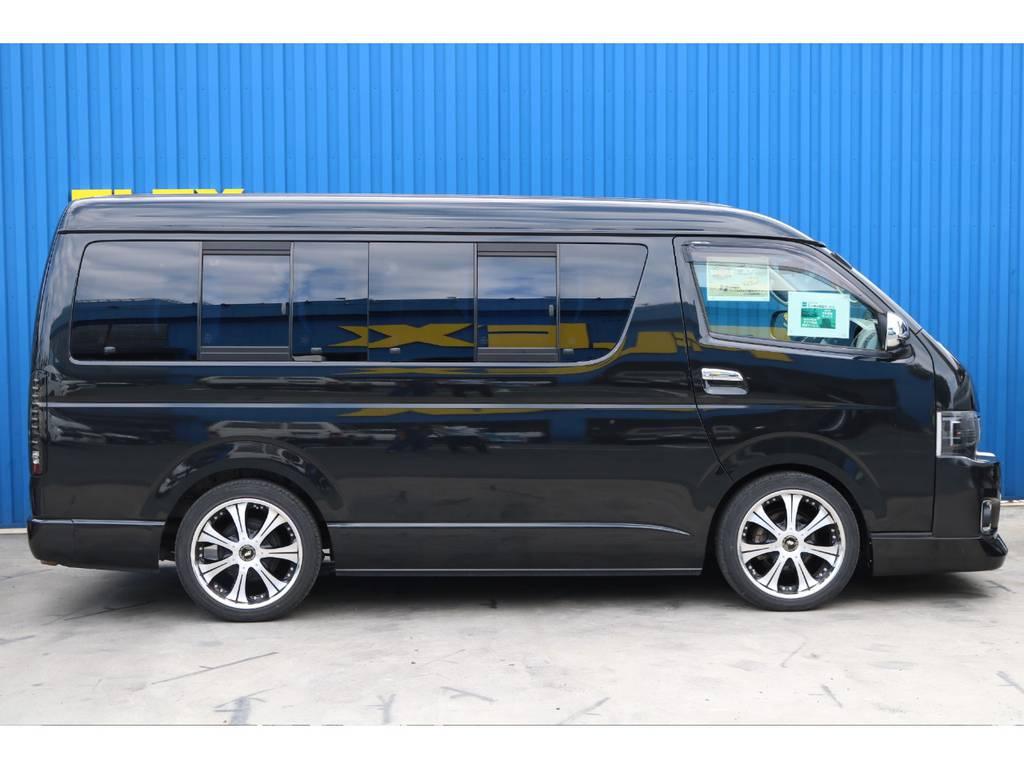 2インチローダウン施工済み☆ | トヨタ ハイエース 2.7 GL ロング ミドルルーフ 【買取直販】3型ワゴン