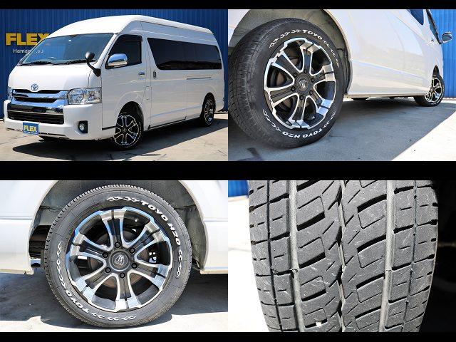 クリムソン・W-DEEPS17インチホイール☆ | トヨタ レジアスエース 2.7 DX ワイド ハイルーフ スーパーロングボディ GLパッケージ 4WD キャンピングカー