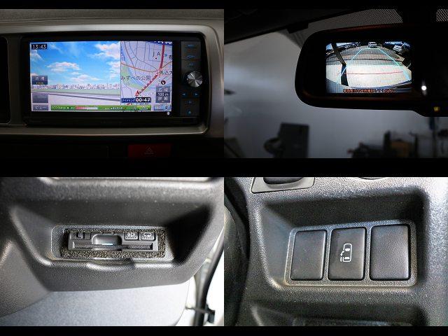 ナビ・ETC・バックモニター付き自動防眩ミラー・電動パワースライド付き☆ | トヨタ レジアスエース 2.7 DX ワイド ハイルーフ スーパーロングボディ GLパッケージ 4WD キャンピングカー