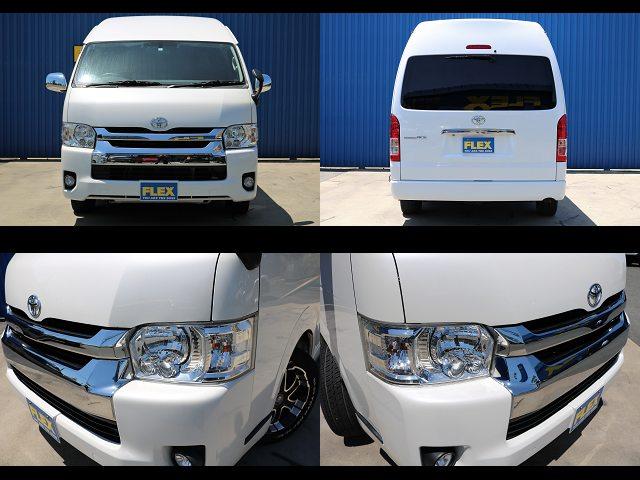 4型LEDヘッドライト付き☆ | トヨタ レジアスエース 2.7 DX ワイド ハイルーフ スーパーロングボディ GLパッケージ 4WD キャンピングカー