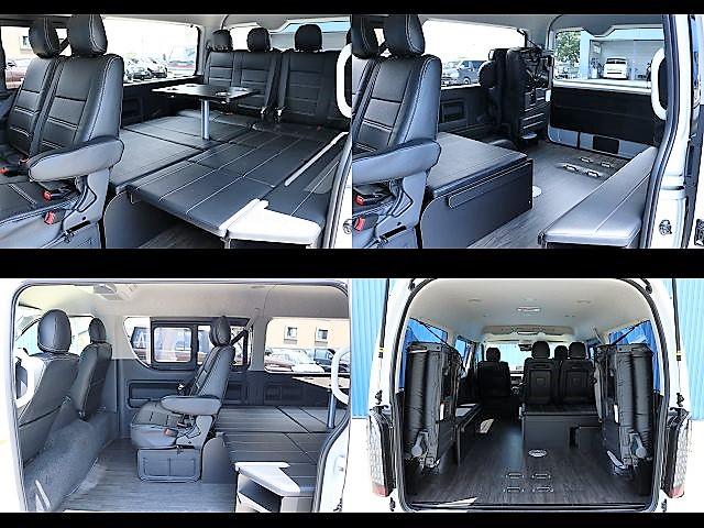 フレックスオリジナルR1内装架装☆ | トヨタ ハイエース 2.7 GL ロング ミドルルーフ 内装アレンジR1架装