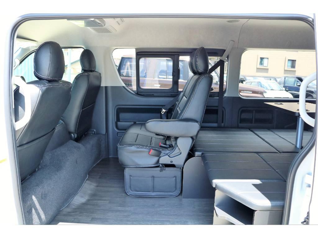 内装アレンジR1架装☆ | トヨタ ハイエース 2.7 GL ロング ミドルルーフ 内装アレンジR1架装