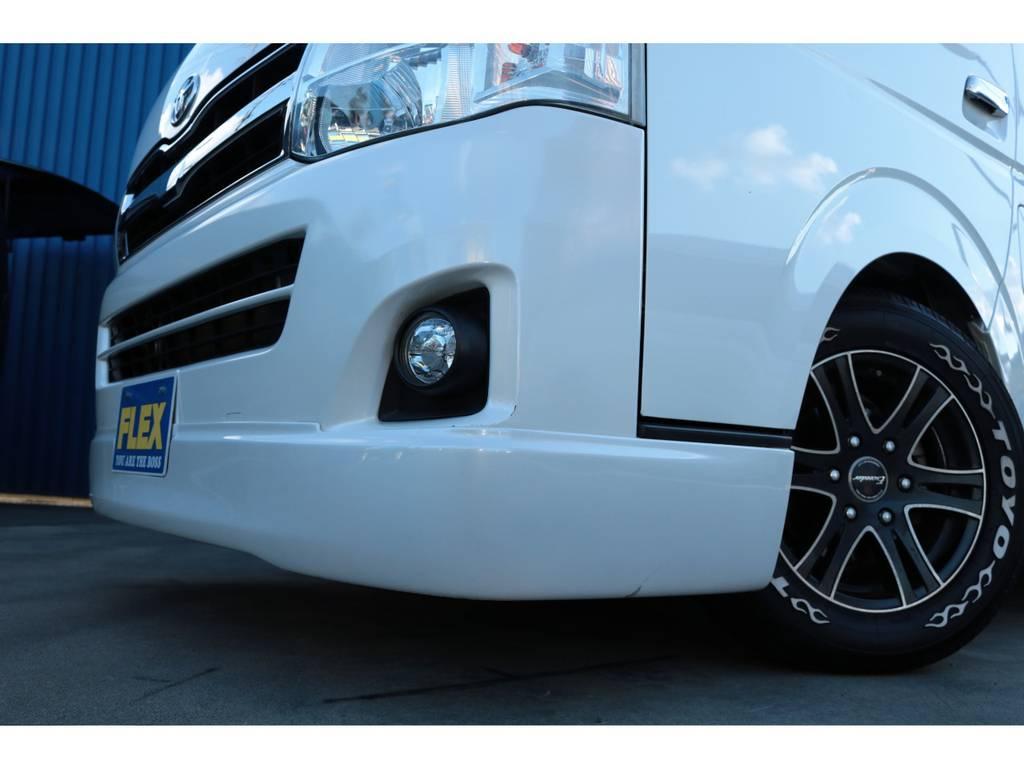 フロントスポイラー装着済み☆ | トヨタ レジアスエース 2.0 スーパーGL ロングボディ 乗り心地向上リーフ交換車両