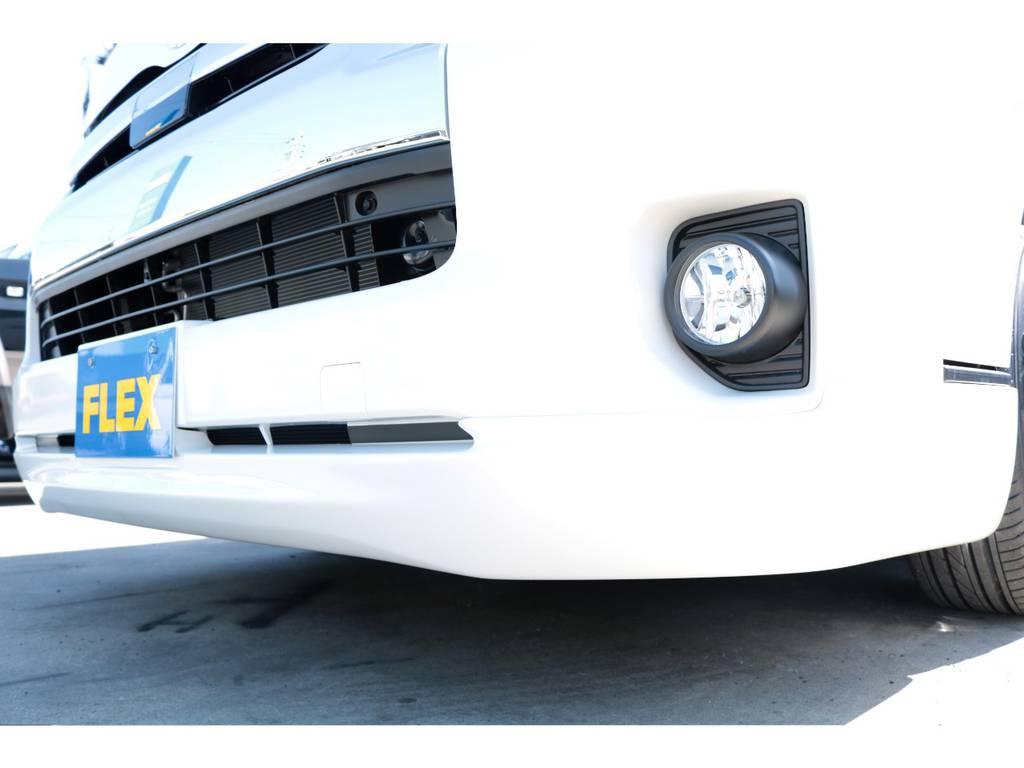 415コブラ、クリーンルック3スポイラー付き☆ | トヨタ ハイエース 2.7 GL ロング ミドルルーフ TSS付フレックスオリジナルアレンジAS