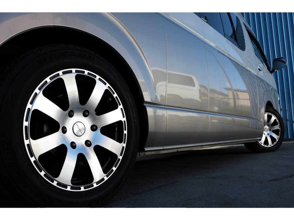 追加カスタムも承ります☆ | トヨタ ハイエースバン 2.7 DX スーパーロング ハイルーフ トイファクトリー、ランドティピー