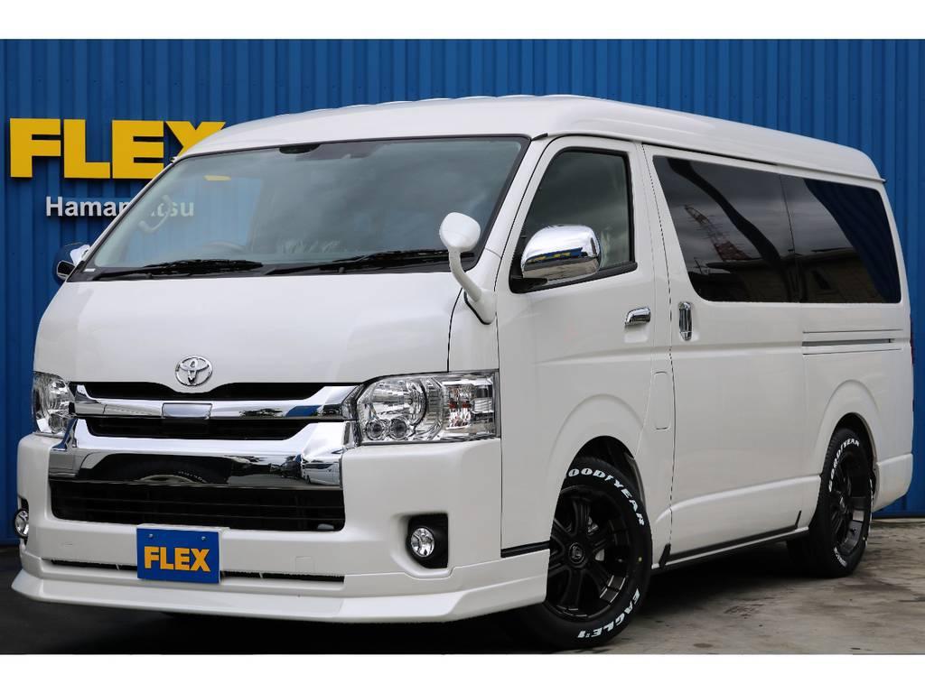 4WD、ハイエースワゴンGL、フレックス内装架装アレンジA-S☆