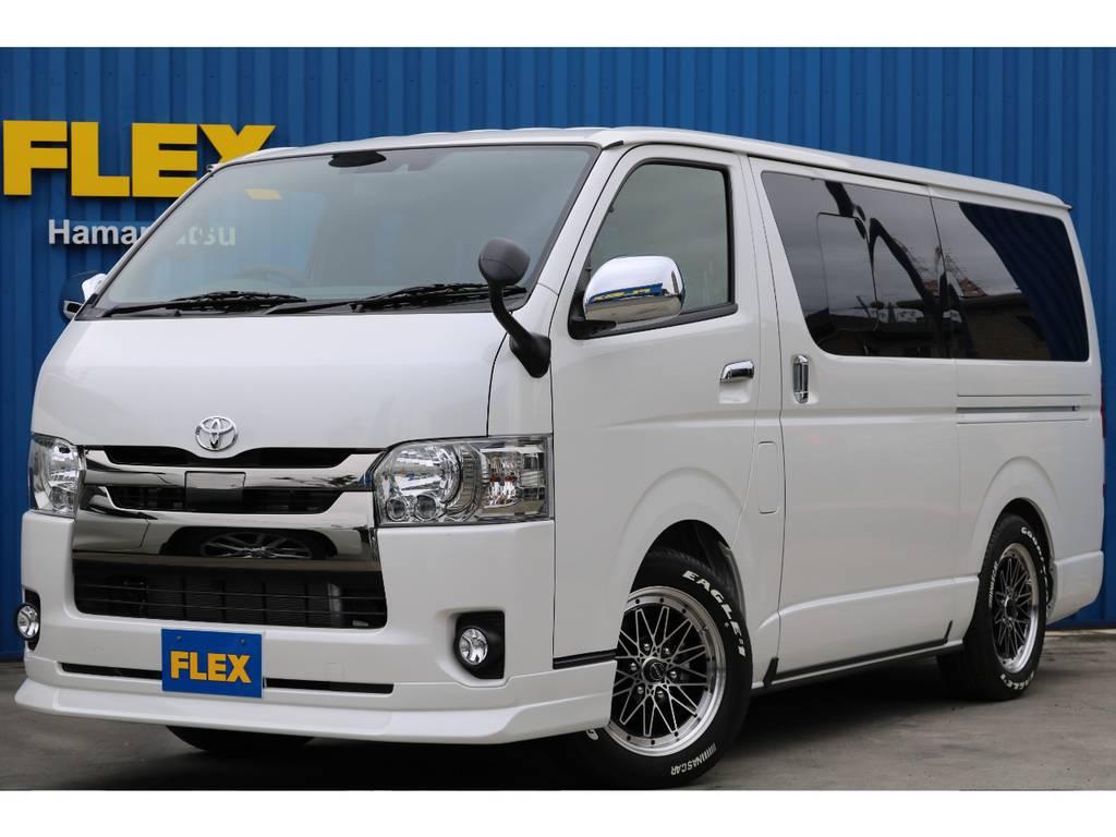 ダークプライムⅡ、4WD、ディーゼル☆フレックスオリジナルVer4ベットキット仕様☆