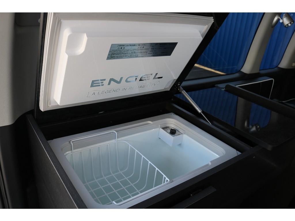 ENGEL上開き冷蔵冷凍庫!