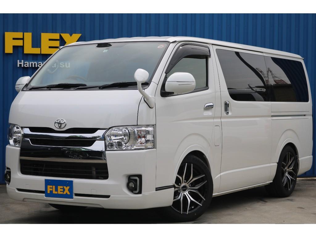【4型 6ATガソリンバン】FLEXオリジナル内装 Ver.4 ワンオーナー 程度良好! 自信を持ってご案内出来るお車です!