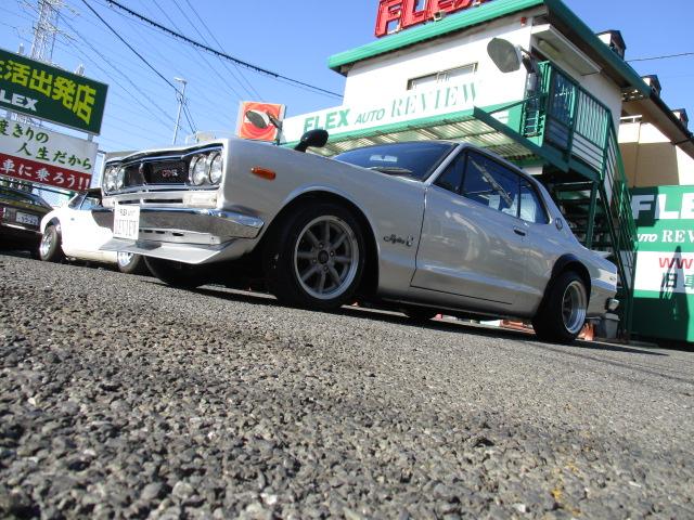   日産 スカイラインHT GT-R仕様
