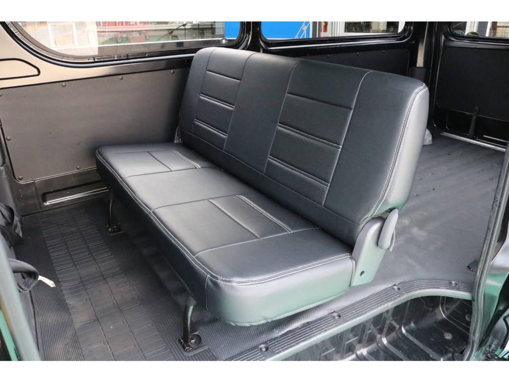 シートカバーも張替ずみです!   トヨタ ハイエースバン 2.0 DX ロング
