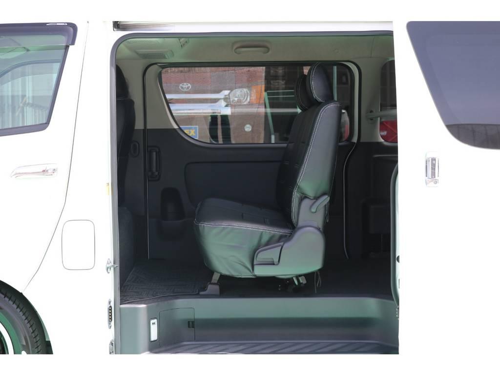 両側スライドドア・イージークロ―ザー付きです♪ | トヨタ ハイエースバン 2.0 スーパーGL ロング