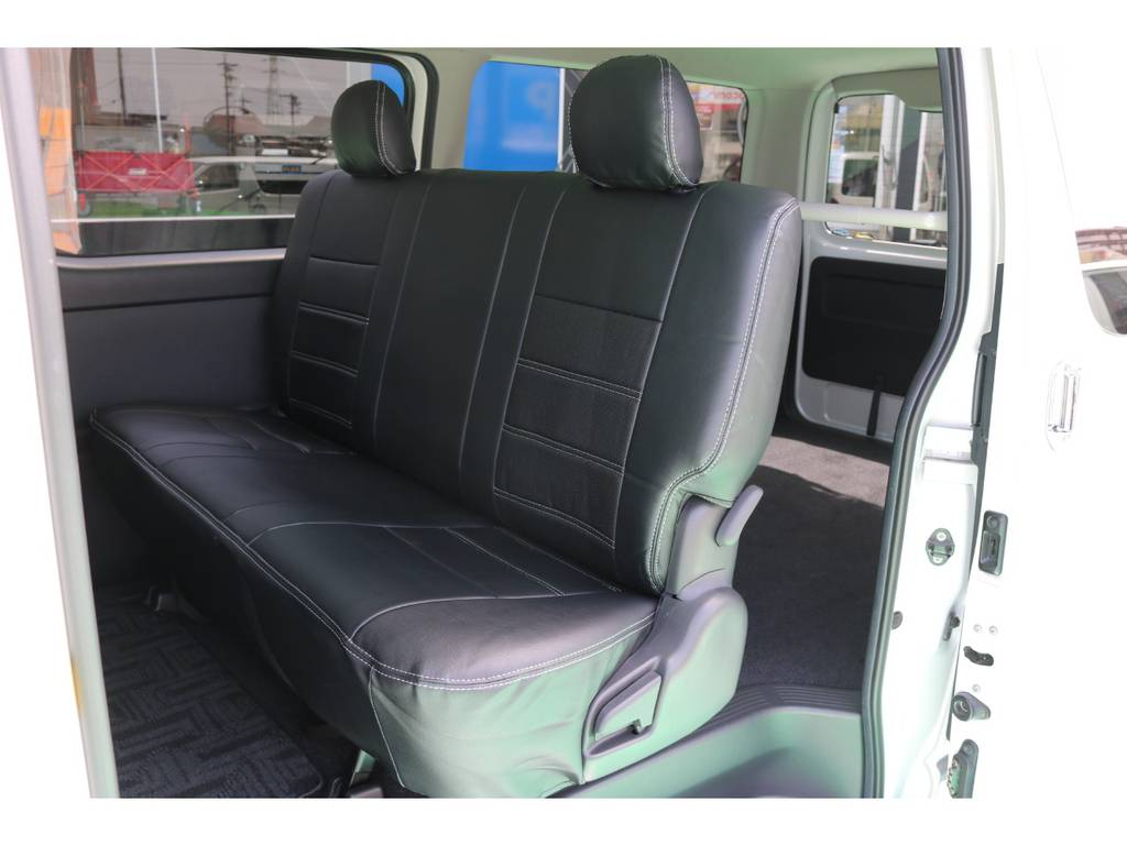 新品全席シートカバー♪ | トヨタ ハイエースバン 2.0 スーパーGL ロング