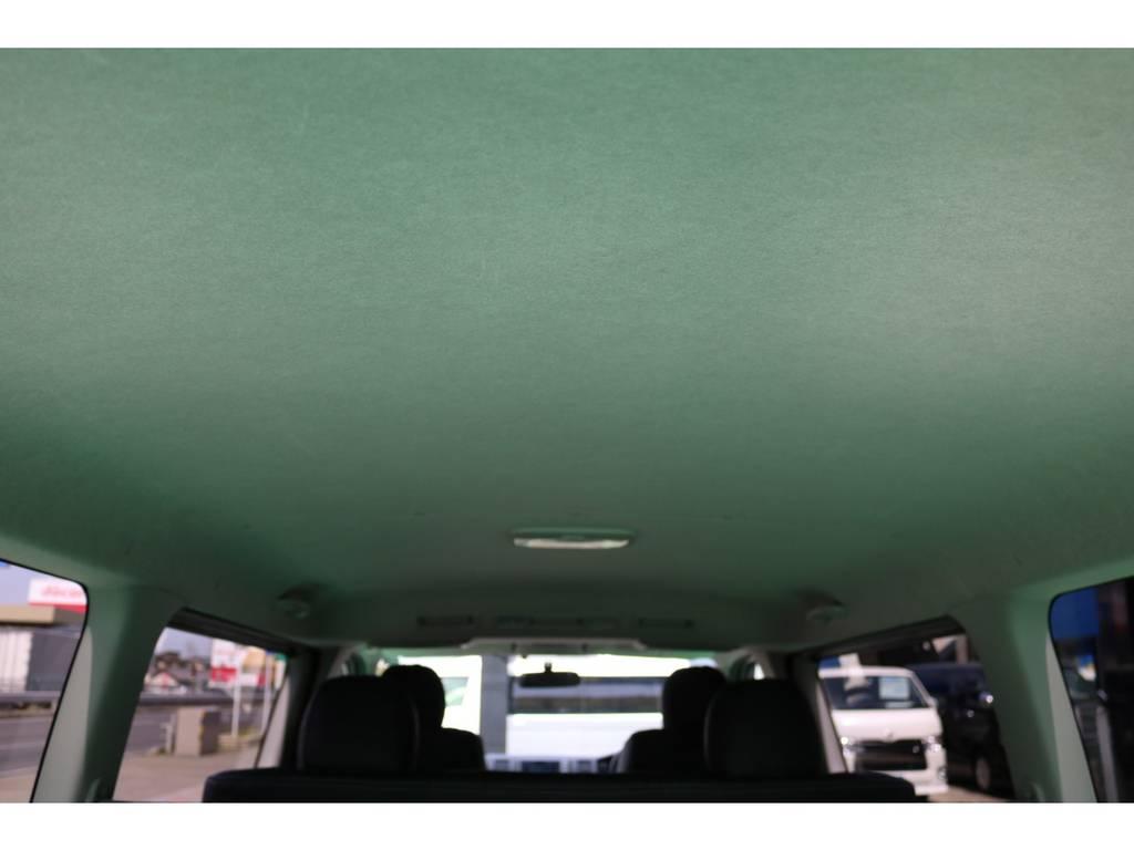 天張りも綺麗な状態を保っております♪ | トヨタ ハイエースバン 2.0 スーパーGL ロング