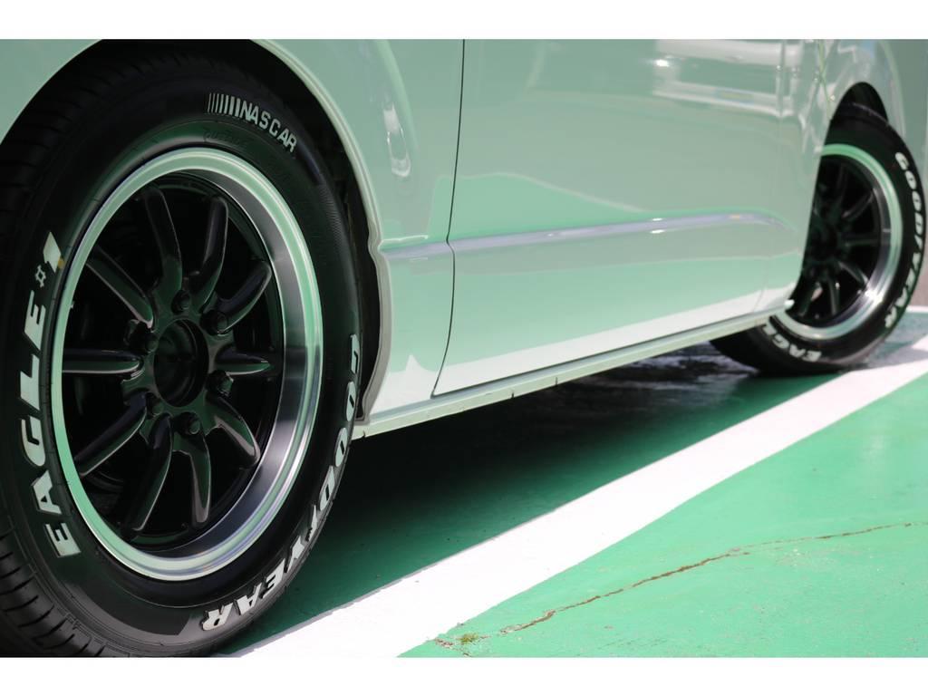 新品ナスカータイヤ装備♪ | トヨタ ハイエースバン 2.0 スーパーGL ロング