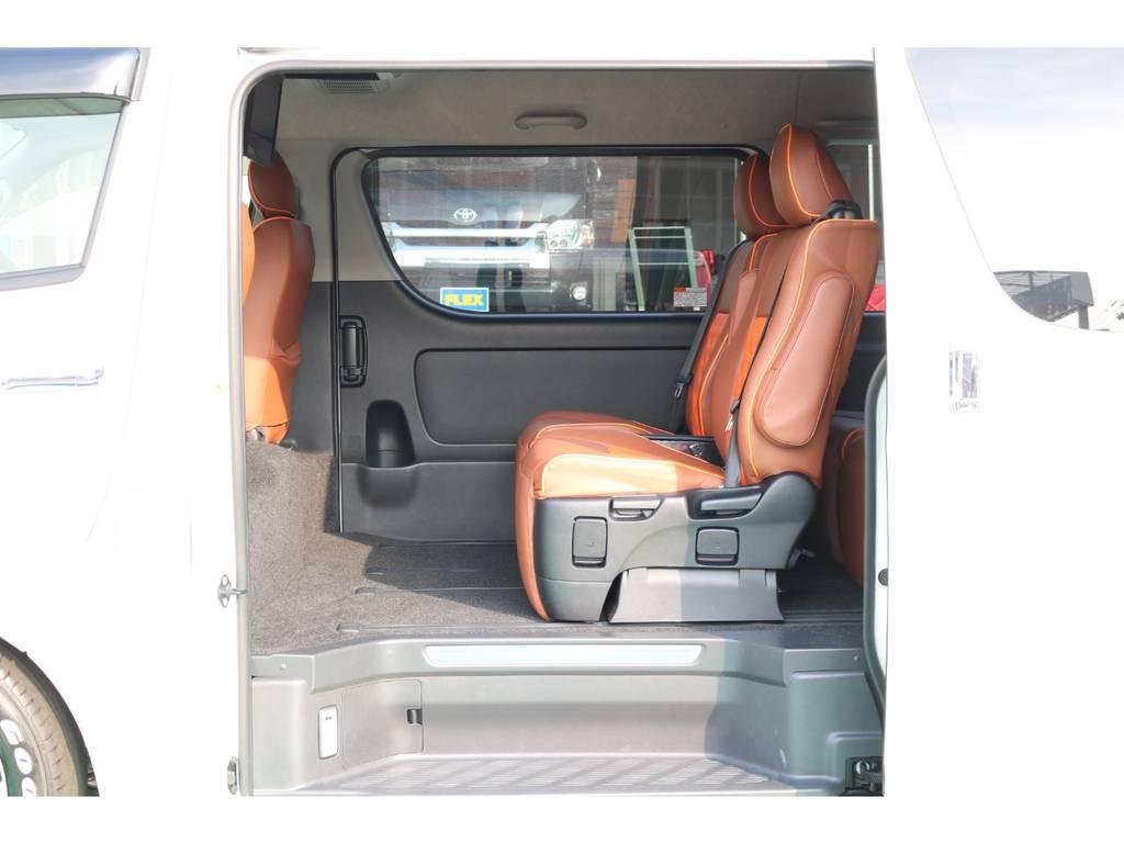 助手席側スライドはパワースライドア♪ | トヨタ ハイエース 2.7 GL ロング ミドルルーフ パーソナルワゴン