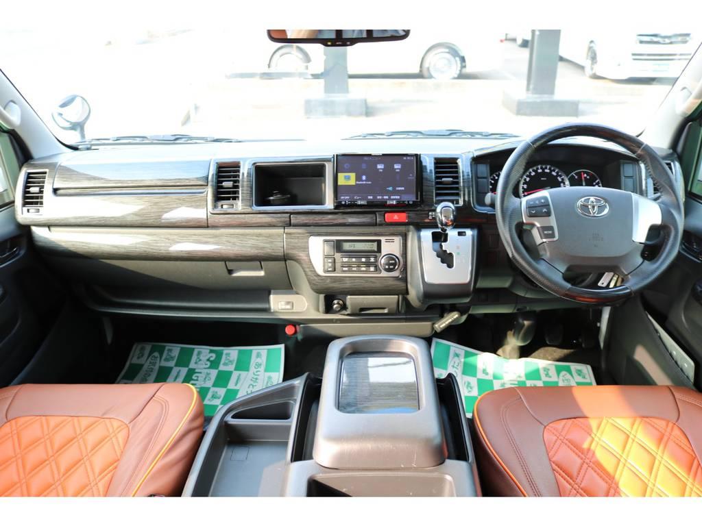 専門業者にてルームクリーニング済み♪ | トヨタ ハイエース 2.7 GL ロング ミドルルーフ パーソナルワゴン
