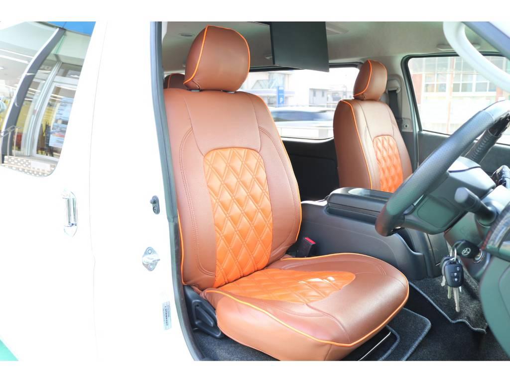 全席シートカバー装備♪ | トヨタ ハイエース 2.7 GL ロング ミドルルーフ パーソナルワゴン