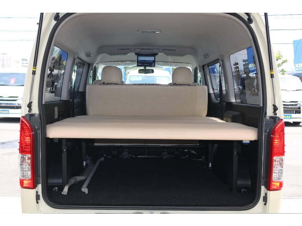 5段階高さ調整可能ベッドキット♪ | トヨタ ハイエースバン 2.8 スーパーGL ワイド ロング ミドルルーフ ディーゼルターボ Renoca試乗車
