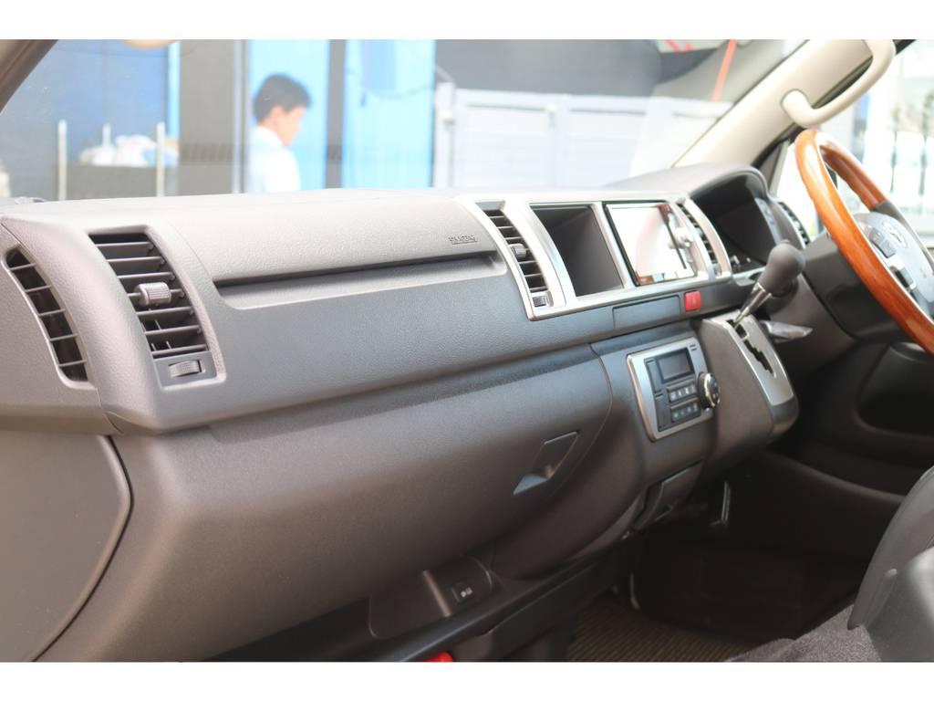 助手席エアバッグ&100Vコンセント♪ | トヨタ ハイエースバン 2.8 スーパーGL ワイド ロング ミドルルーフ ディーゼルターボ Renoca試乗車